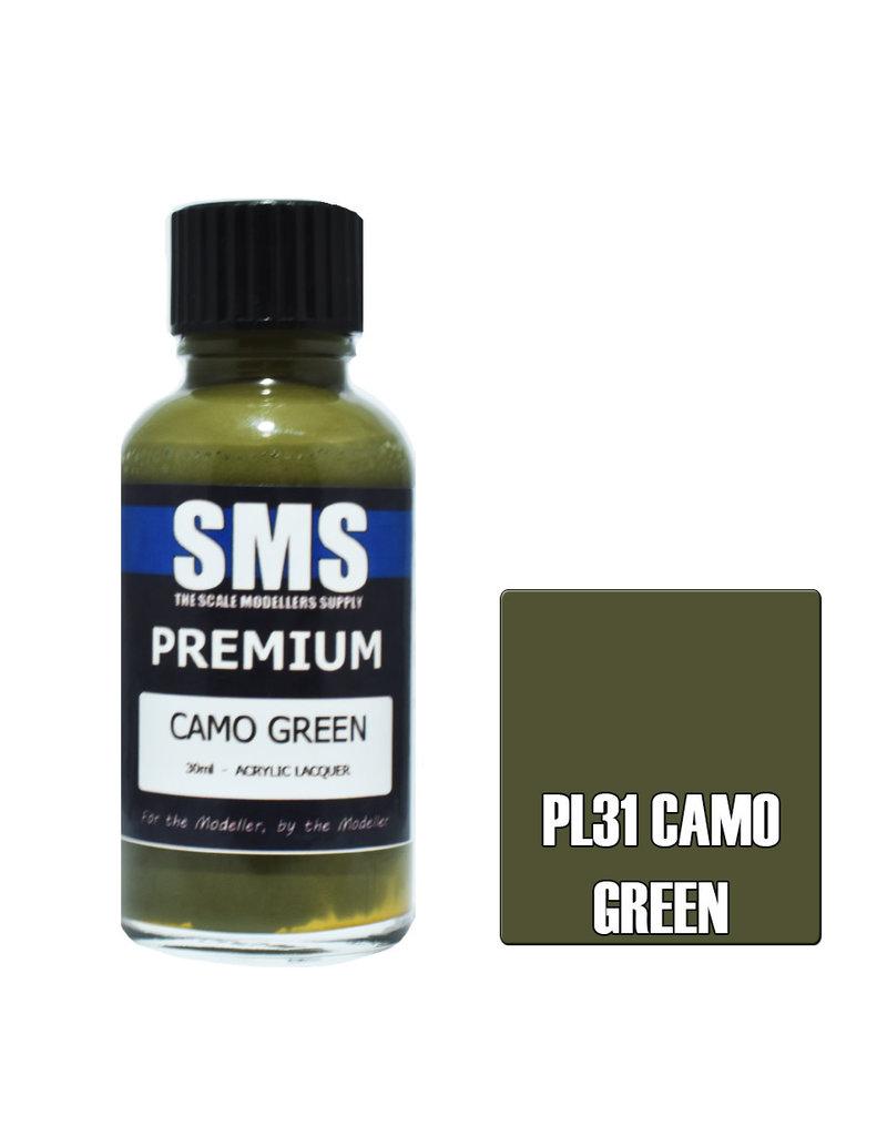 The Scale Modellers Supply Premium CAMO GREEN 30ml