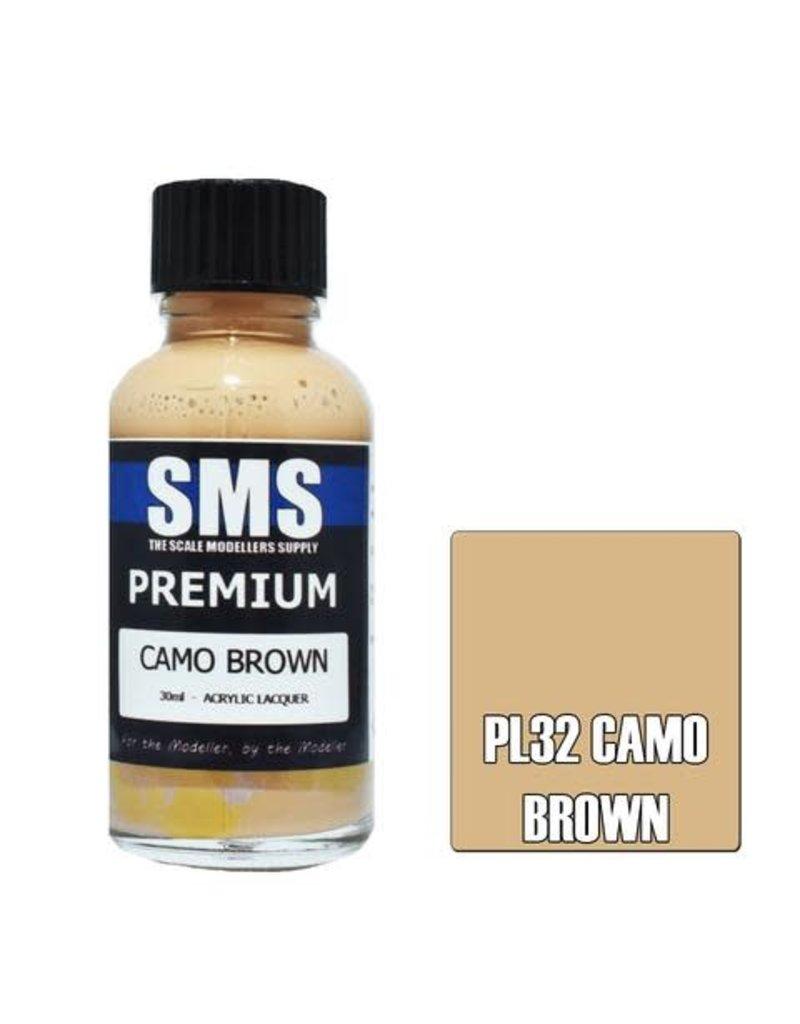 The Scale Modellers Supply Premium CAMO BROWN 30ml