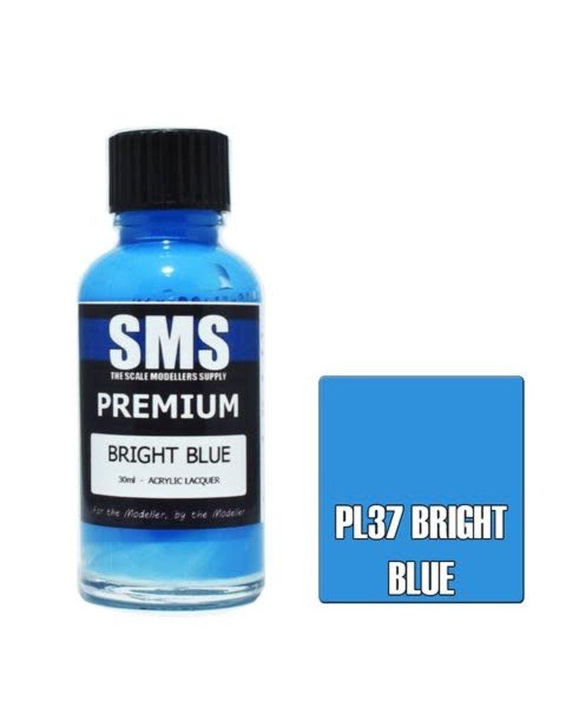 The Scale Modellers Supply Premium BRIGHT BLUE 30ml