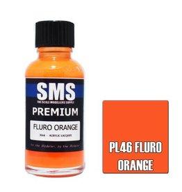 The Scale Modellers Supply Premium FLURO ORANGE 30ml