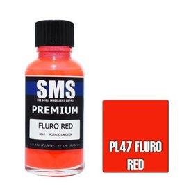 The Scale Modellers Supply Premium FLURO RED 30m