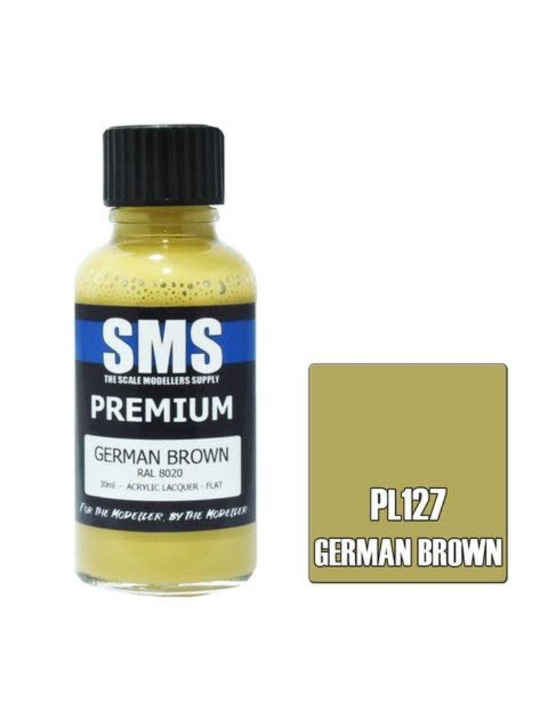 The Scale Modellers Supply Premium GERMAN BROWN 30ml