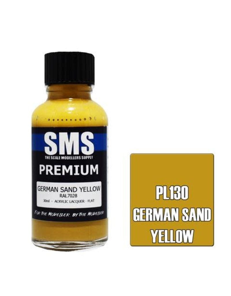 The Scale Modellers Supply Premium GERMAN SAND YELLOW 30ml