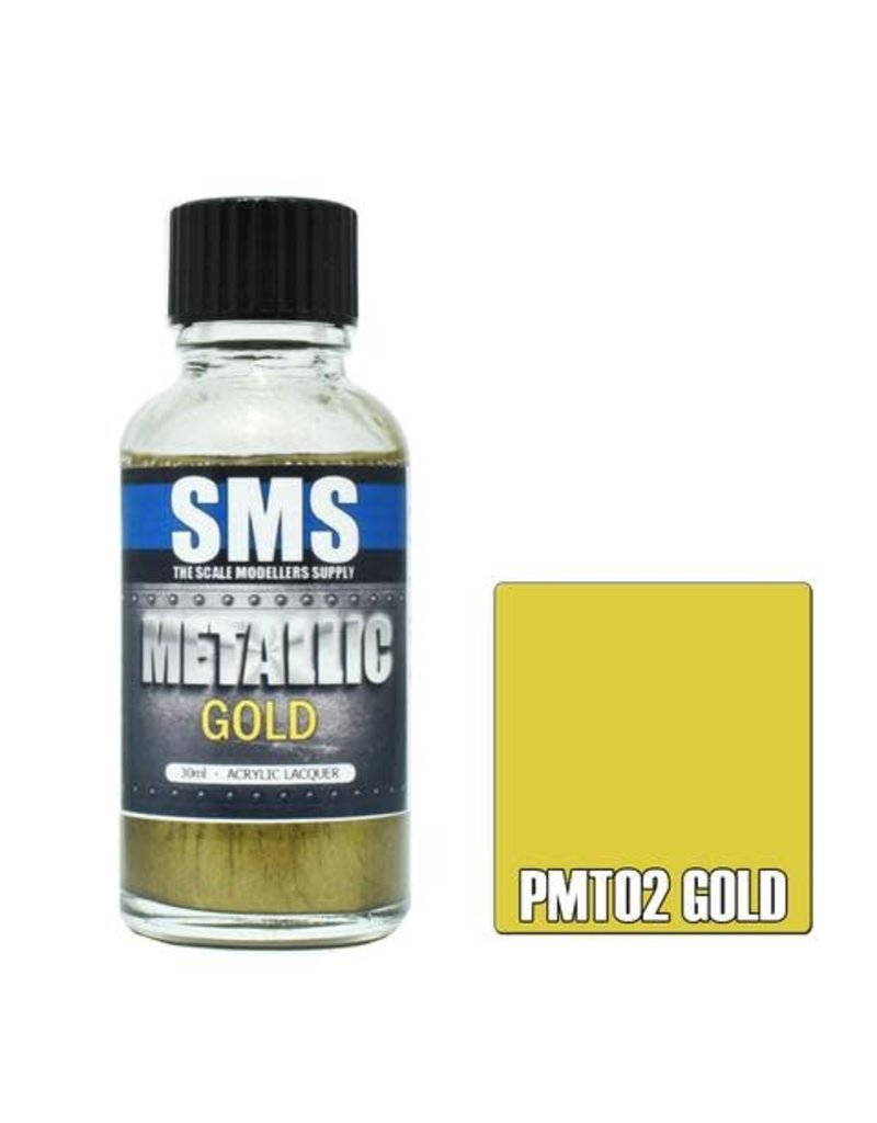 The Scale Modellers Supply Metallic GOLD 30ml