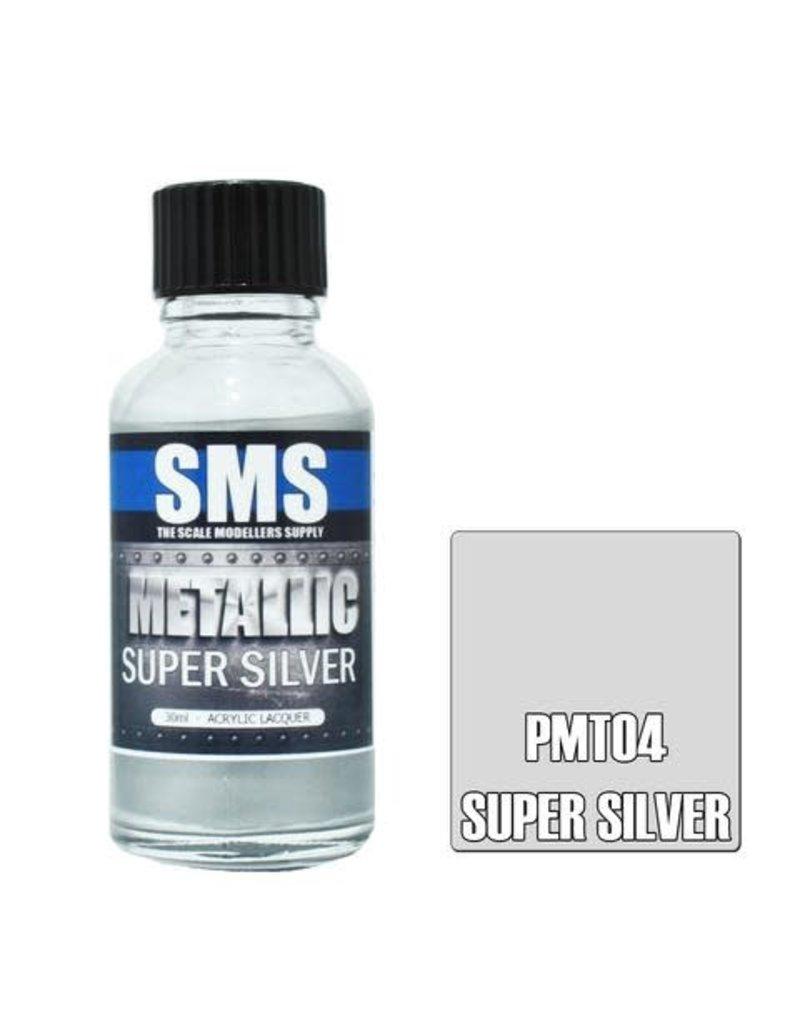 The Scale Modellers Supply Metallic SUPER SILVER 30ml