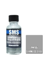 The Scale Modellers Supply Metallic STAINLESS STEEL 30ml