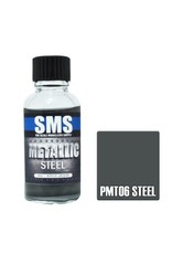 The Scale Modellers Supply Metallic STEEL 30ml