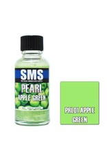 The Scale Modellers Supply Pearl APPLE GREEN 30m