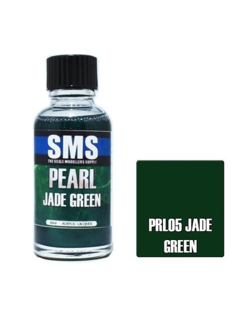 The Scale Modellers Supply Pearl JADE GREEN 30ml