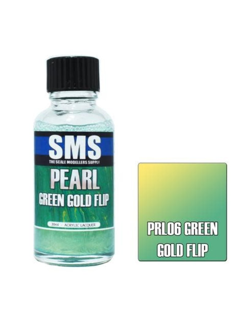 The Scale Modellers Supply Pearl GREEN GOLD FLIP 30ml