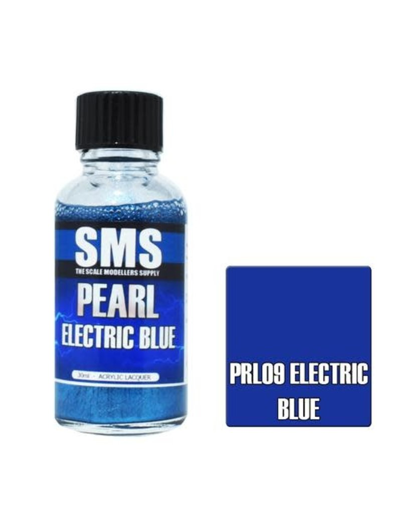 The Scale Modellers Supply Pearl ELECTRIC BLUE 30ml