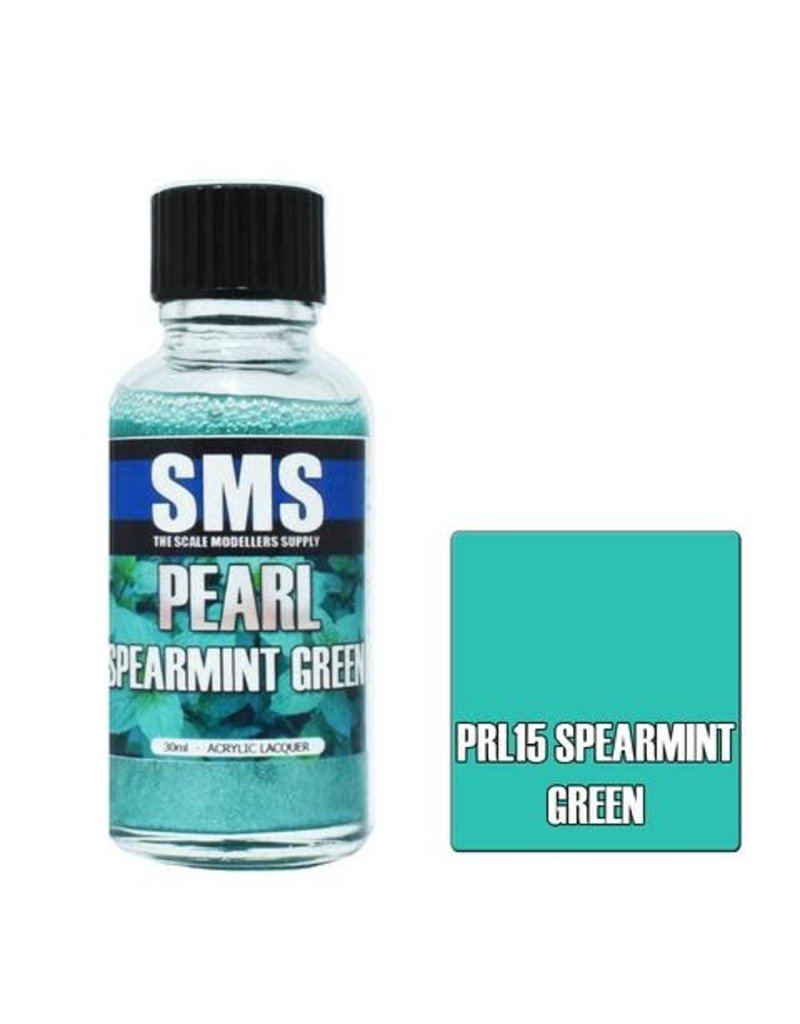 The Scale Modellers Supply Pearl SPEARMINT GREEN 30ml
