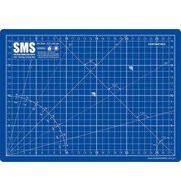 The Scale Modellers Supply Premium Cutting Mat A4 BLUE