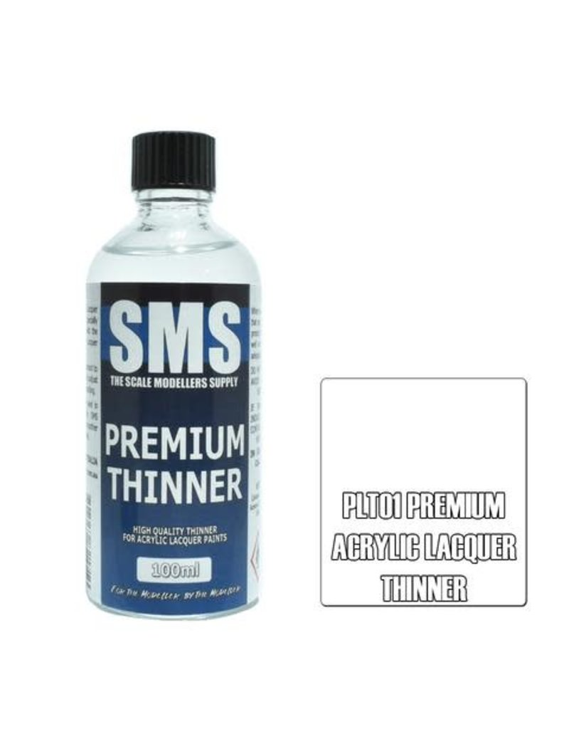 The Scale Modellers Supply Premium Acrylic Lacquer THINNERS 100ml