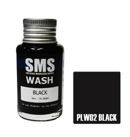 The Scale Modellers Supply Wash BLACK 30ml