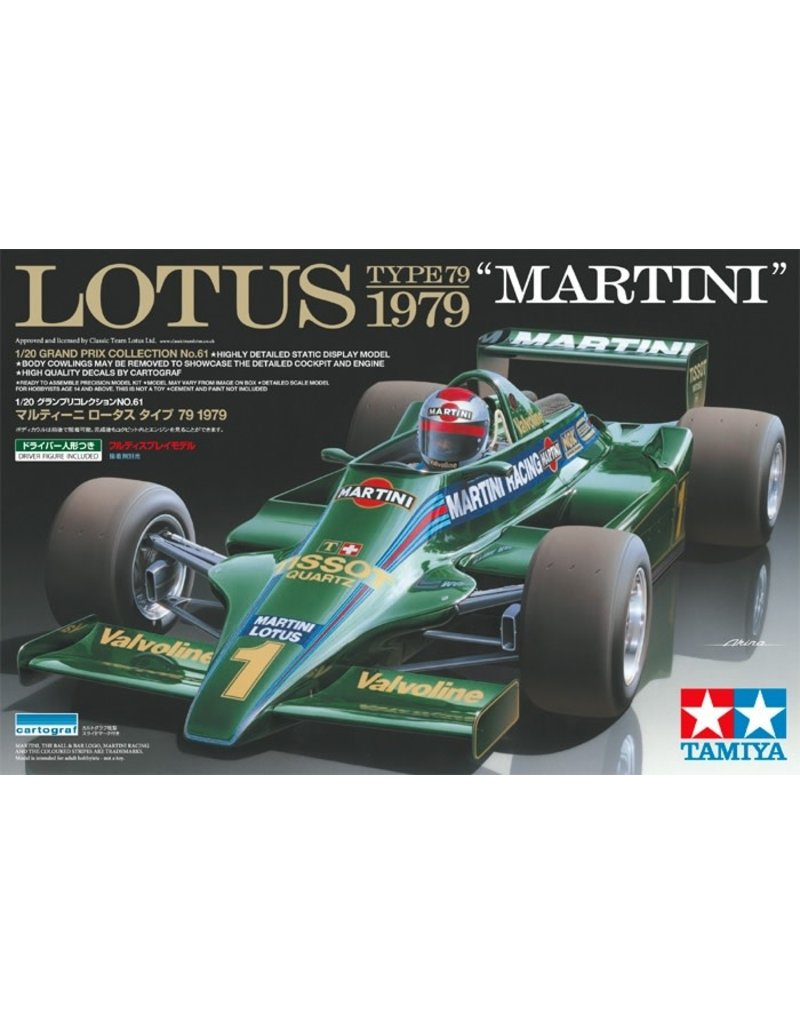 Tamiya 1/20 Lotus Type 79 Martini