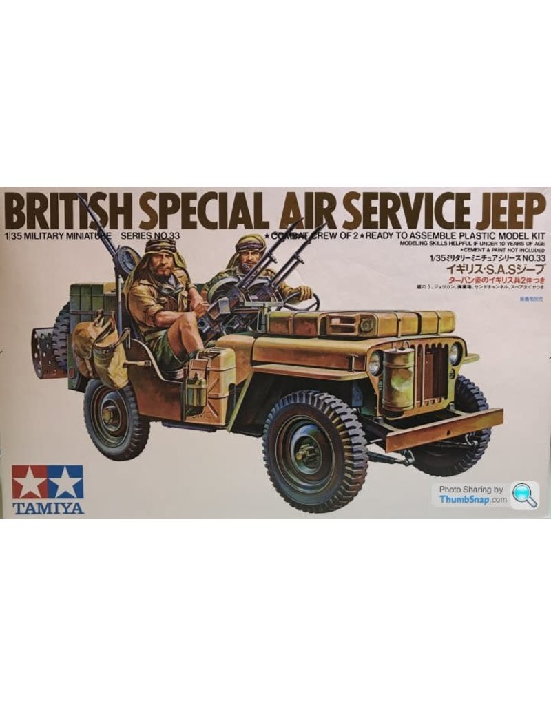 Tamiya British SAS Jeep