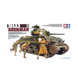 Tamiya M4A3 SHERMAN 75MM GUN LATE