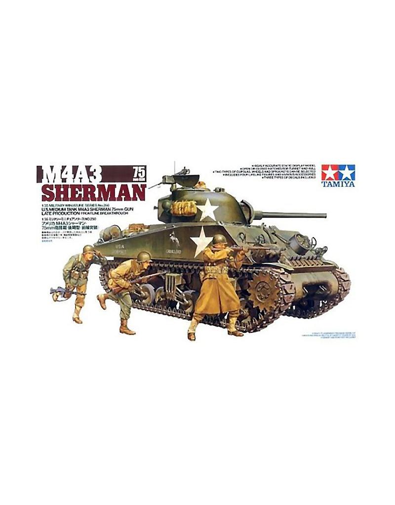 Tamiya M4A3 SHERMAN 75MM GUN LATE