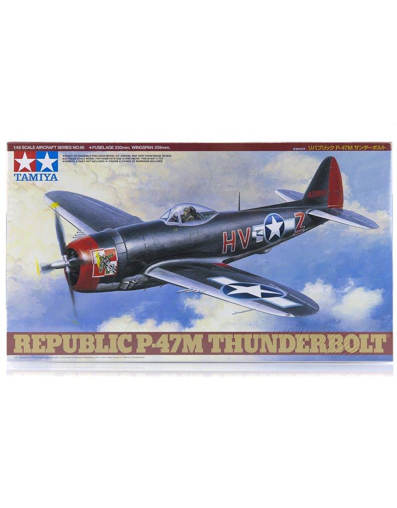 Tamiya Tamiya 61096 1/48 Republic P-47M Thunderbolt Plastic Model Airplane Kit