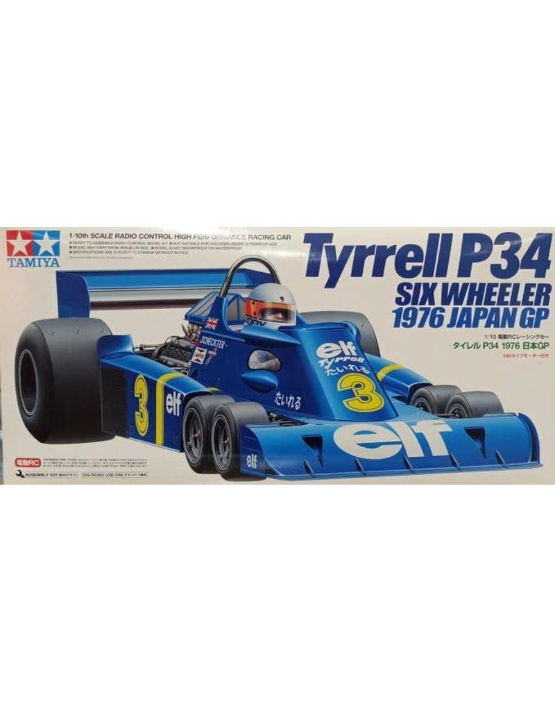 Tamiya Tamiya 1/10 R/C Tyrrell P34 Six Wheeler 1976 Japanese GP