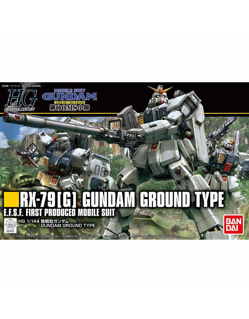 Bandai Bandai 5059169 1/144 HG Gundam Ground Type