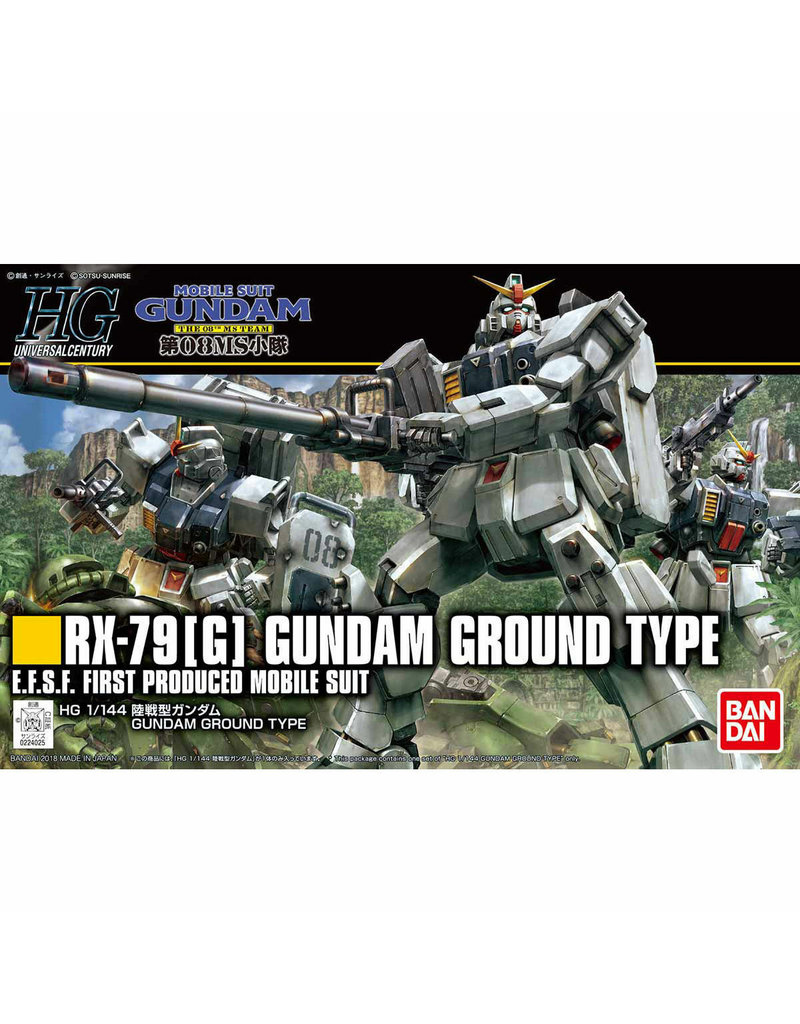 Bandai HG 1/144 GUNDAM GROUND TYPE