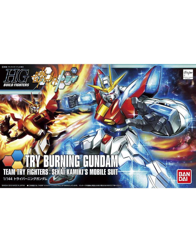 Bandai HGBF 1/144 TRY BURNING GUNDAM