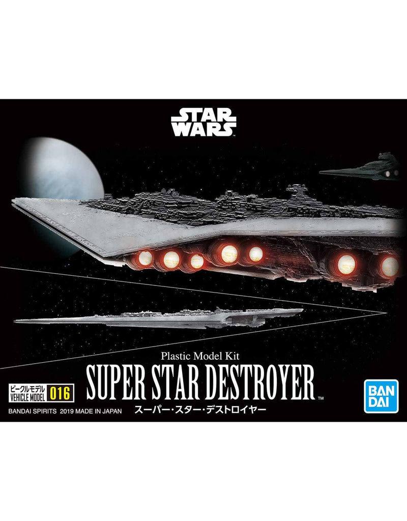 Bandai VEHICLE MODEL 016 SUPER STAR DESTROYER