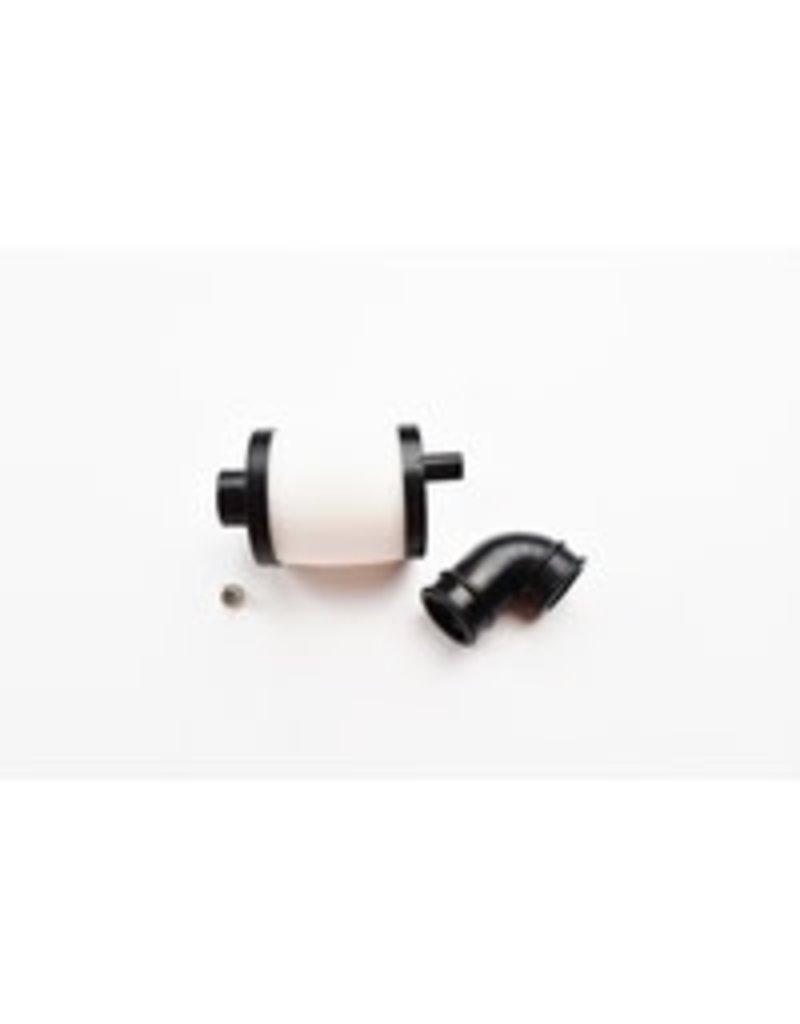 CY Model C.Y. 1/8 Air Filter (Black ) + Short Black elbow