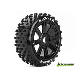 Louise B-Rock 1/8th Buggy Tyre BLK/spoke