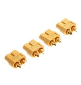 Tornado RC XT-60 Plug Female(Female bullet with male housing)4pcs/bag