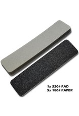 The Scale Modellers Supply SANDING PLATE REFILL (COARSE)