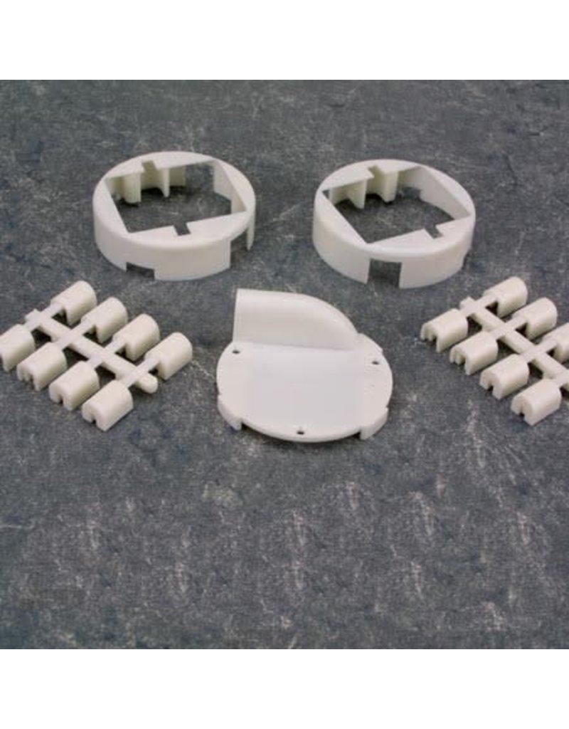Hitec Hitec Servo Wing Mount Set, HS-80/81, Fp-S143, Nes-341, 94501