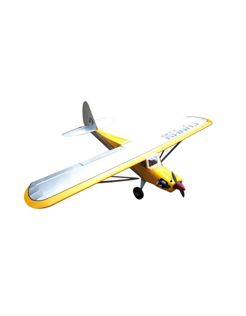 Seagull models Seagull Models Funky Cub Utility RC Plane, 15cc, ARF, Yellow, SGFUNKYCUB15CCY