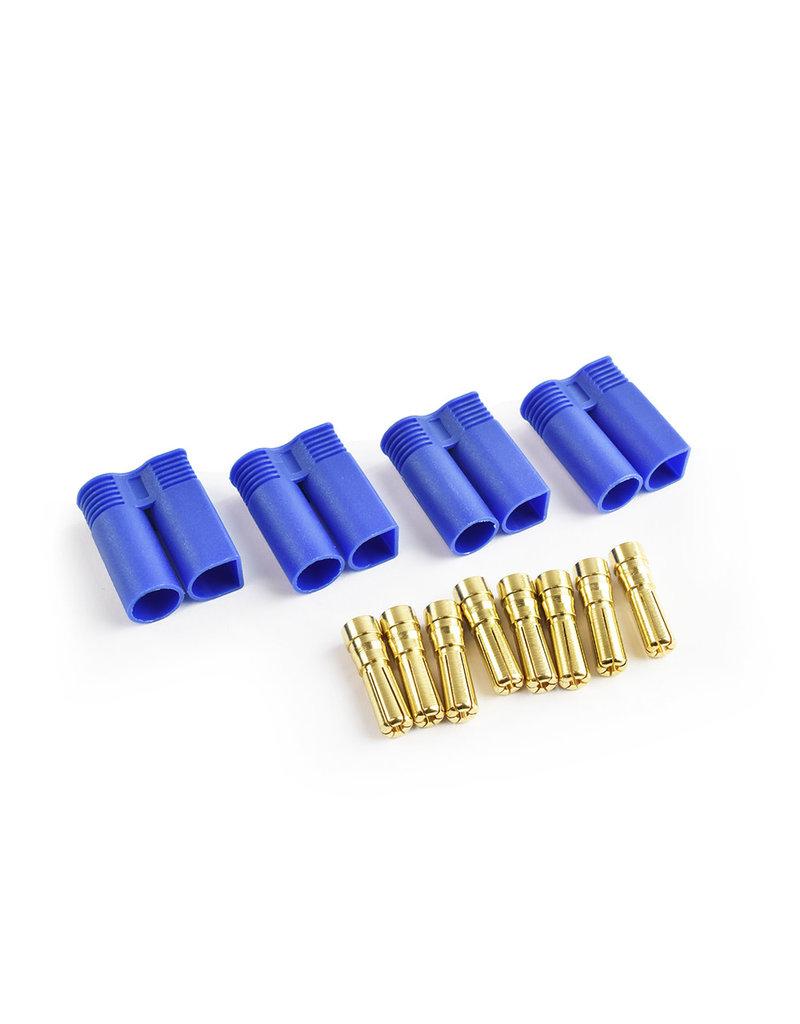 Tornado RC EC5 Plug Male(Male bullet with female housing) 4pcs/bag