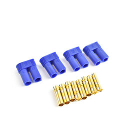 Tornado RC EC5 Plug Female(Female bullet with male housing)4pcs/bag