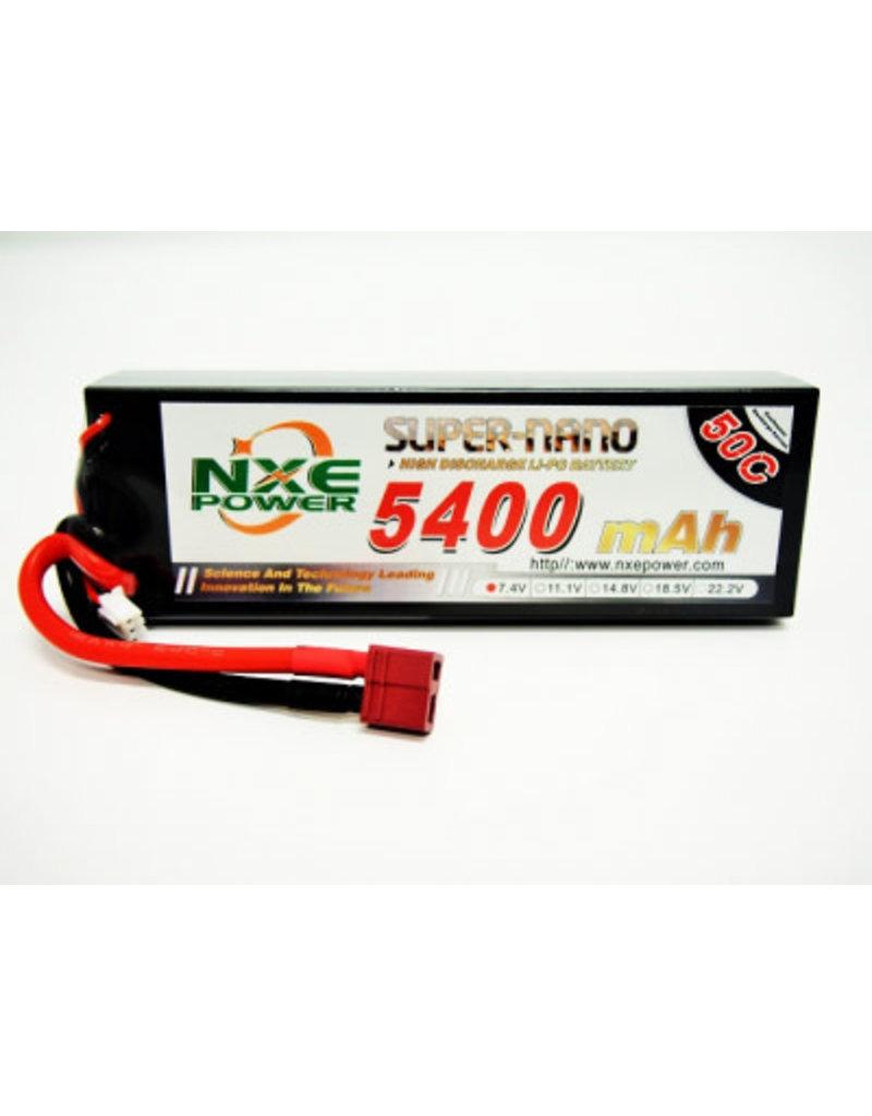 NXE Power NXE 7.4v 5400mah 50c H/case Lipo w/Dean