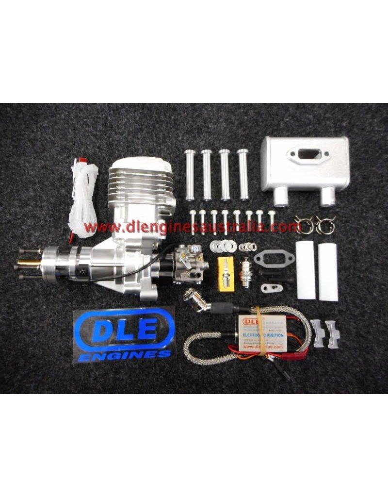 DLE DLE-35RA Single Cylinder Petrol Engine