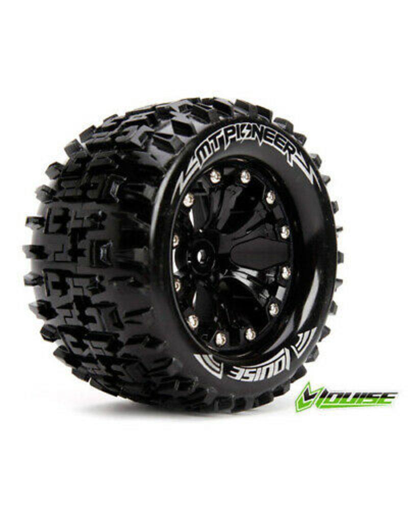 Louise MT-Pioneer Tyre On Black Rim 0 Offset