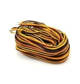 Hitec Hitec 3 Color Servo Wire 50ft (15.24m)