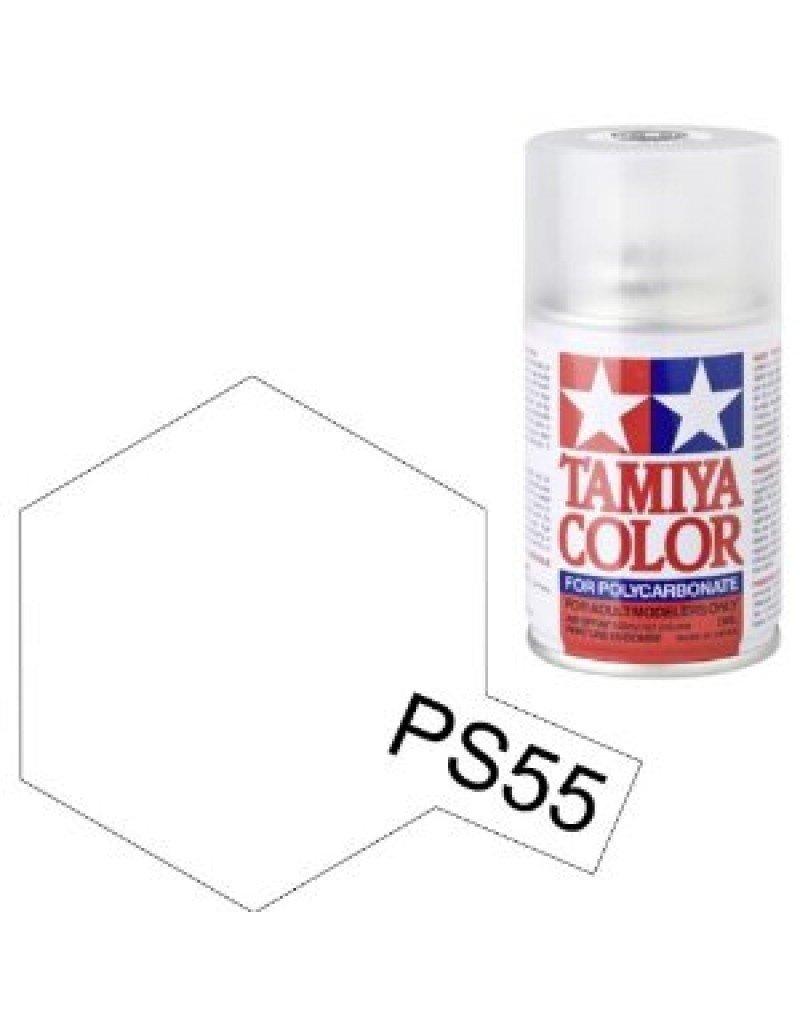 Tamiya Tamiya PS-55 Flat Clear Polycarbonate Spray Paint 100ml