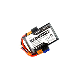 Dualsky Dualsky 4000mah 2S 7.4v 25C LiPo Receiver Battery with Servo and XT60 Connector