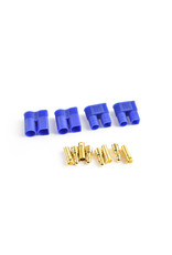 Tornado RC EC3 Plug Male(Male bullet with female housing) 4pcs/bag