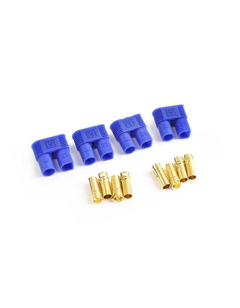 Tornado RC EC3 Plug Female(Female bullet with male housing) 4pcs/bag