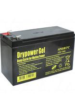 Drypower 12V 7.2Ah F2 SLA Battery