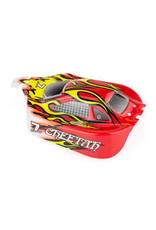 HSP HSP 1/10 Cheetah Buggy Painted Red Body Shell
