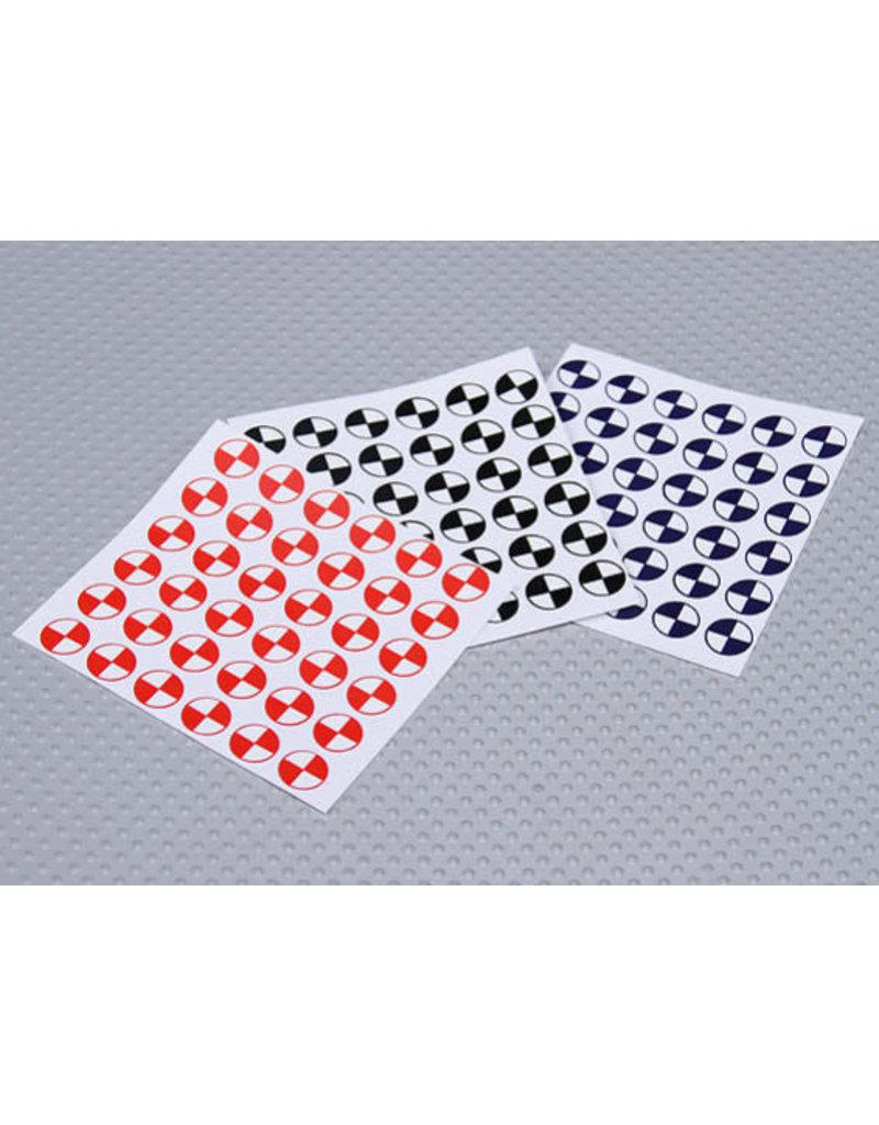 Hobby Creations CG Sticker sheet - 3 Pack