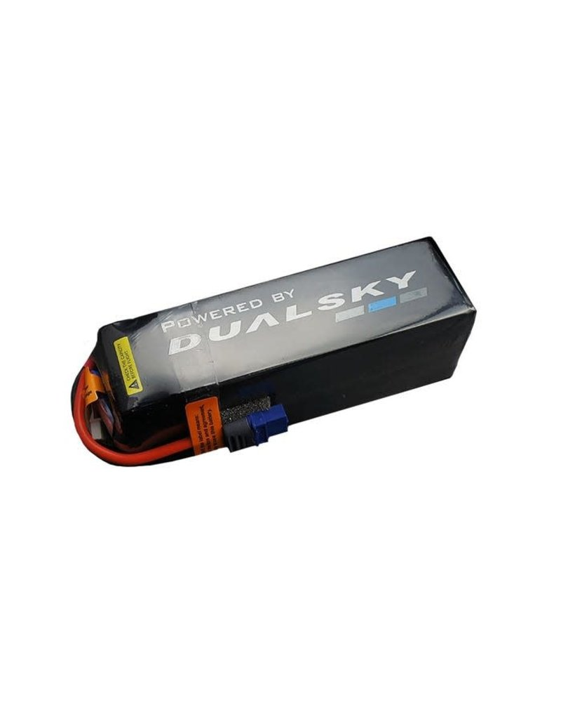 Dualsky Dualsky 5050mah 6S 22.2v 50C HED Lipo Battery with XT60  Connector