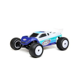 Losi 1/18 Mini-T 2.0 2WD Stadium Truck Brushless RTR  Blue